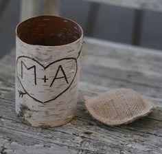 Life of a Vintage Lover: Birch Bark DIY