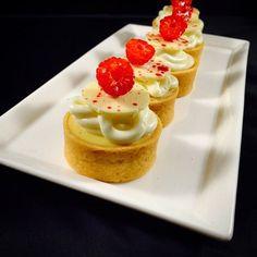 Pastry Chef Antonio Bachour - Today Lemon , White Chocolate Tart for Banquet buffet @stregisbalharbour #bachour