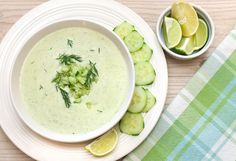 Easy Chilled Cucumber Soup
