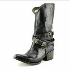 Freebird Pikes Boots Black Freebird Pikes Boots. Comes in box. Only wore once. Like new. These are gorgeous boots. Steven by Steve Madden Shoes