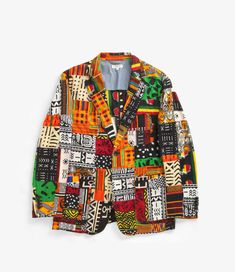 nepenthes online store   ENGINEERED GARMENTS Baker Jacket - African Print