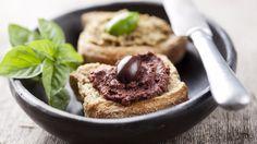 Sardine and olive tapenade