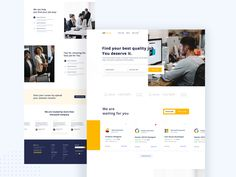 Hello Dribbblers This is a Job portal Landing page . Hope you like it! Feedback are always welcome :) I am available for freelance work. Contact me through my email and Skype. Landing Page Best Practices, Landing Page Examples, Best Landing Pages, App Landing Page, Landing Page Design, Coach Website, Job Website, Website Ideas, Job Page