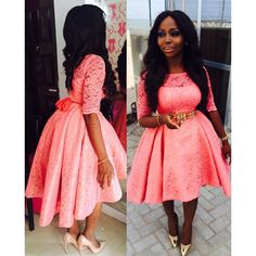 beautiful lace styles for wedding african lace styles for wedding lace dress styles for wedding guest African Lace Styles, African Lace Dresses, African Dresses For Women, African Attire, African Fashion Dresses, African Women, Ghanaian Fashion, Nigerian Lace Styles, African Wear