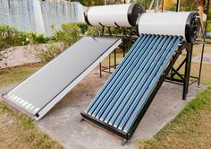 Active Solar Water Heaters - Pros and Cons Solar Energy Panels, Best Solar Panels, Solar Energy System, Solar Water Heater, Water Heaters, Solar Roof Tiles, Solar Projects, Solar House, Solar Panel System