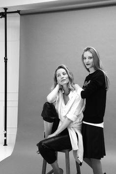 Lucie de la Falaise and Ella Rose Richards | vogue.co.uk