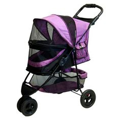 The orchid Pet Gear No-Zip Special Edition Pet Stroller *** Check this awesome image  : Dog strollers