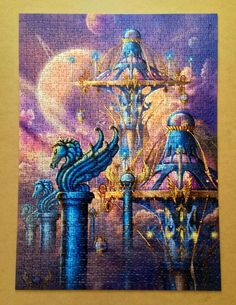 City of swords Ciro Marchetti puzzle 1000 pieces by Spielspass