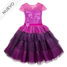 online shopping for Disney Mal Party Dress Girls - Descendants 3 Size Purple from top store. See new offer for Disney Mal Party Dress Girls - Descendants 3 Size Purple Girls Party Dress, Girls Dresses, Summer Dresses, Formal Dresses, Wedding Dresses, Dress Skirt, Dress Up, Tutu Party, Barbie