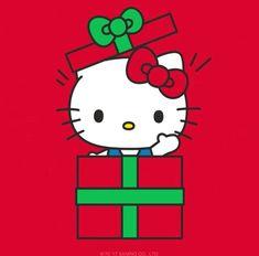 Hello Kitty Christmas Surprise Part 2 Hello Kitty Clothes, Hello Kitty Art, Hello Kitty Themes, Hello Kitty Pictures, Hello Kitty Christmas, Hello Kitty Birthday, Christmas Cats, Christmas Time, Merry Christmas