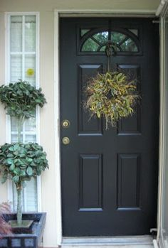 Our Suburban Cottage: How I Painted My Front Door...Don't Ya Love Creative Titles?