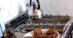 Vegetariano y Orgánico: Galletas de avena y algarroba