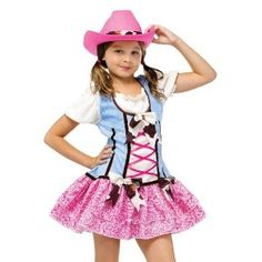 Girls Cowgirl Halloween Costume