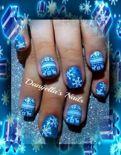#christmas #winter #Winternailart #Christmasnailart #nailart #nailartdesigns #nails