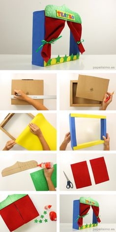 Diy Discover Teatro de marionetas para-niños How to Make a Puppet Theatre for Children Tutorial DIY mit kindern Kids Crafts Diy And Crafts Paper Crafts Mermaid Crafts Dramatic Play Diy Toys Digital Media Kids And Parenting Diy For Kids Diy Crafts For Kids, Arts And Crafts, Paper Crafts, Children Crafts, Mermaid Crafts, Finger Puppets, Kids And Parenting, Activities For Kids, Projects