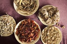 In Kashmir, some of the best dishes are made with sun-dried vegetables.
