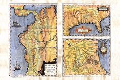 Map Painting, Vintage World Maps, Original Paintings, Hand Painted, River, The Originals, Frame, Easy, Picture Frame