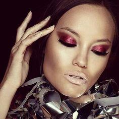 make up by Elena Vasileiou