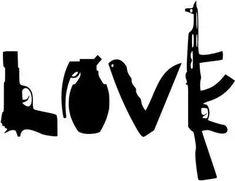 The Bucket: Jack: Saw this pumper sticker today on a pickup. S Tattoo, Hand Tattoos, Sleeve Tattoos, Tattoo Sketches, Tattoo Drawings, Gangsta Tattoos, Love Gun, Cheap Wall Stickers, Flash Art