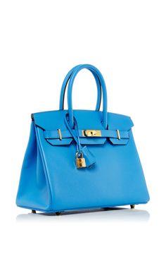 white birkin - Bleu Saphir Blue Ermes Kelly 28cm Sellier Epsom Leather Bag Gold ...