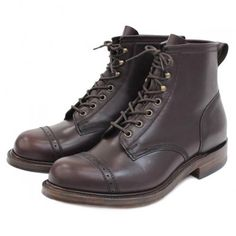 RRL BOWERY BOOTS Made in ENGLAND