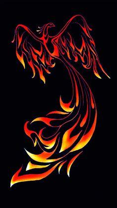 Phoenix Bird Firebird Tattoo Ideas 33 Ideas For 2019 Phoenix Bird Tattoos, Red Bird Tattoos, Phoenix Tattoo Design, Body Art Tattoos, Tattoo Bird, Crow Tattoos, Ear Tattoos, Phoenix Artwork, Phoenix Images
