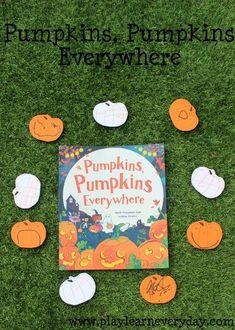 Pumpkins, Pumpkins Everywhere Fun Halloween Games, Halloween Decorations For Kids, Easy Halloween Crafts, Halloween Party Decor, Halloween Kids, Printable Activities For Kids, Toddler Learning Activities, Rainy Day Activities, Autumn Activities