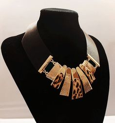 Leopard Seduction Fashion Necklace from LilyFair Jewelry, $18.99!