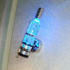 wine bottle LED bubble light