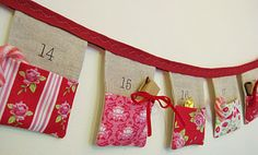 Advent Bunting.. so cute!