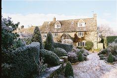 hoar frost in the cotswolds
