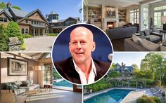 Bruce Willis looks to sell New York country estate for $13M Real Estate News, Luxury Real Estate, Bruce Willis, Country Estate, West End, Estate Homes, New York, Things To Sell, New York City