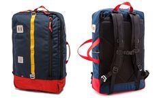 Topo Designs Travel Bag. Not a fan of the little boy color pallette