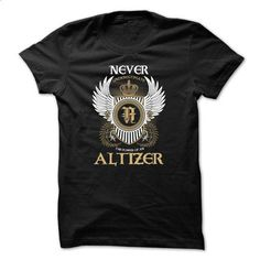 ALTIZER Never Underestimate - #couple gift #shirt