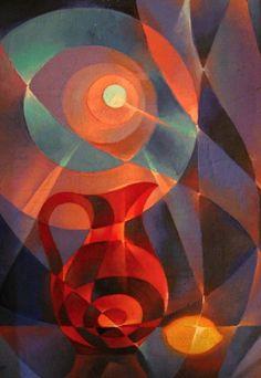 Картина Декоративный натюрморт художник продажа картин Натюрморт Абстракционизм. Куплю картину на заказ Масло холст