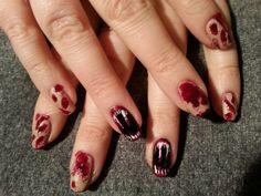 Zombie horror nails