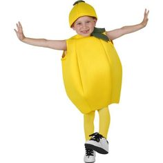 Our Child Lemon Costume is a great Fruit Costume for kids. For a great group costume idea consider our entire selection of Fruit Costumes for any age. Fabric over foam yellow lemon suite Lemon hat Pants and shirt not included SKU: Mario Halloween Costumes, Kids Spiderman Costume, Best Kids Costumes, Fruit Costumes, Costumes For Teens, Dress Up Costumes, Boy Costumes, Group Costumes, Children Costumes