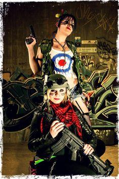 Tank Girl and Jet Cosplay by LaRissaKaye on DeviantArt