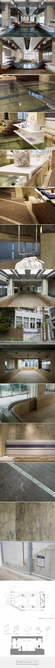nobuo araki transforms the pool aoyama in tokyo - created via http://pinthemall.net