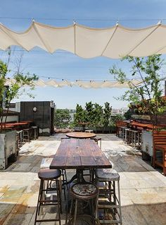 11 NYC Bars Perfect For Summer Fridays+#refinery29
