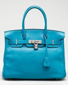 More #bagporn - Hermes turquoise swift Birkin @Rue_La_La - le sigh. ~