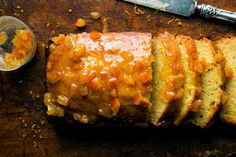 Orange Marmalade Cake - Recipes - The New York Times (Can cut the sugar by a third (our sweet teeth are too active around here) and used 1/3 whole wheat flour)