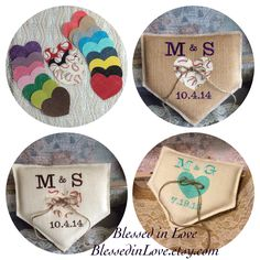 Fabulously fun custom home plate shaped burlap wedding ring pillows. Handmade and personalized from Blessed in Love. Baseball wedding love⚾️❤️⚾️