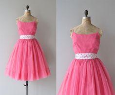 Sprudelnd über Kleid  Vintage 50er Jahre Kleid  von DearGolden