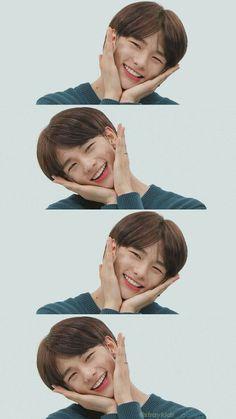 HyunJin is cute.