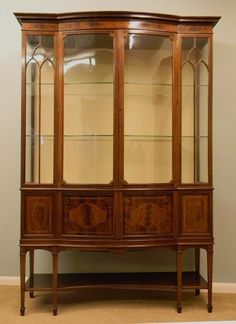Butler Masterpiece Wall Curio Cabinet U0026 Reviews | Wayfair | Curio Cabinets  | Pinterest | Wall Curio Cabinet, Display Cabinets And China Cabinets