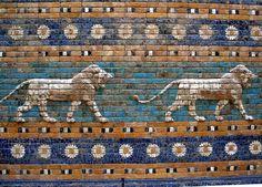 Berlín - Pergamon - Porta d'Ishtar - Lleons - Ishtar Gate - Wikipedia, the free encyclopedia