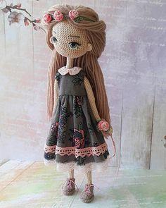 Mesmerizing Crochet an Amigurumi Rabbit Ideas. Lovely Crochet an Amigurumi Rabbit Ideas. Amigurumi Doll, Amigurumi Patterns, Doll Patterns, Cute Crochet, Crochet Baby, Knit Crochet, Knitted Dolls, Crochet Dolls, Crochet Doll Pattern