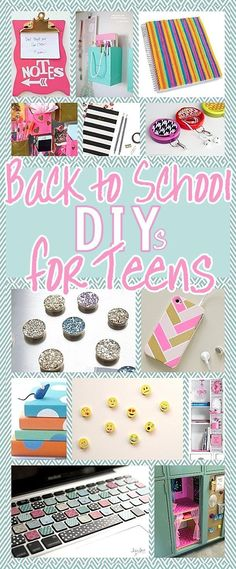 The BEST Back to School DIY Projects for Teens and Tweens {Locker Decorations…