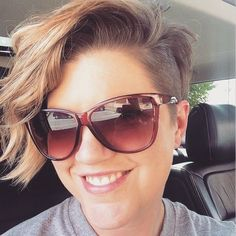 short asymmetric hairstyle I'm thinking about getting this cut idk